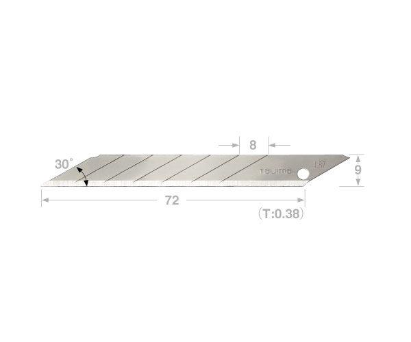 30 Acute Angle Blade Tajima
