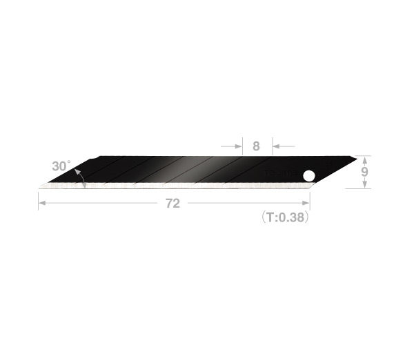 30 degree Acute Angle RBB 9mm