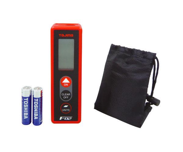 F02 Laserentfernungsmessungsgerät Lieferumfang